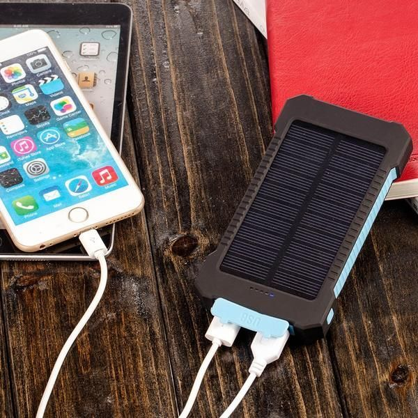 Waterproof Solar Power Bank Capacity:10000mAh Solar panel