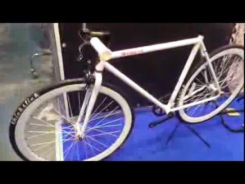 Классический городской велосипед - Fix - белоснежный Purefix 2016