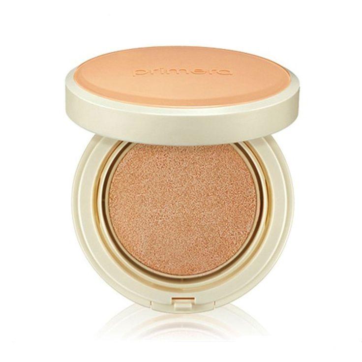 Primera Skin Relief Daily Sun Cushion SPF33 PA++ 15g / 0.52oz #Primera #333korea #skincare #beauty #koreacosmetics #cosmetics #oppacosmetics #cosmetic #koreancosmetics