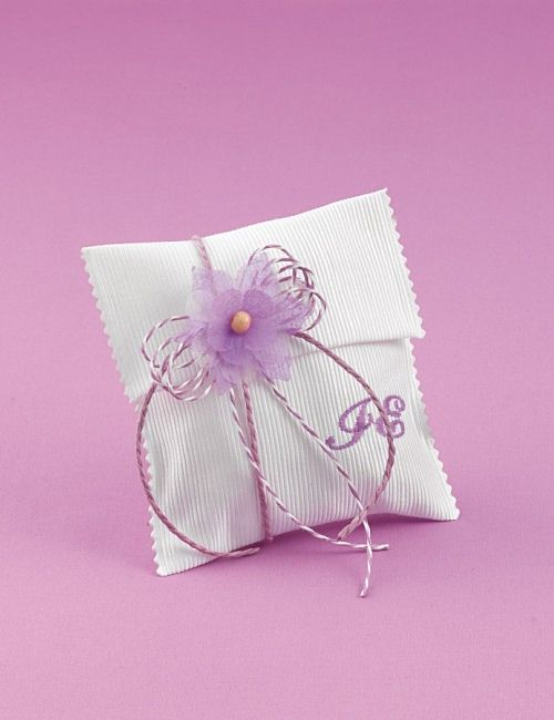 www.mpomponieres.gr Μπομπονιέρα Γάμου Τετραγωνος Φάκελος με Μονογράμματα