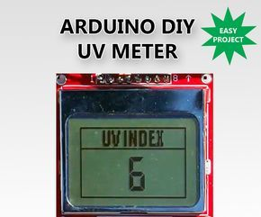 In this Instructable I am going to show you how to build a very useful UV meter with a big Nokia 5110 LCD display using Arduino. Protect your skin from the dangers of the sun's radiation with this project! What is the Ultraviolet (UV) Index?The ultraviolet index or UV Index is an international standard measurement of the strength of sunburn-producing ultraviolet (UV) radiation at a particular place and time. The scale was developed by Canadian scientists in 1992, then adopted and standard...