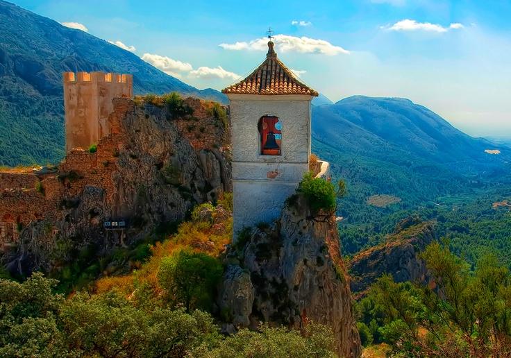 El castell de Guadales, Valencia | Quim Granell