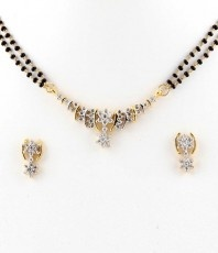 Reema's AD Mangalsutra Pendant Set_165 only for $25