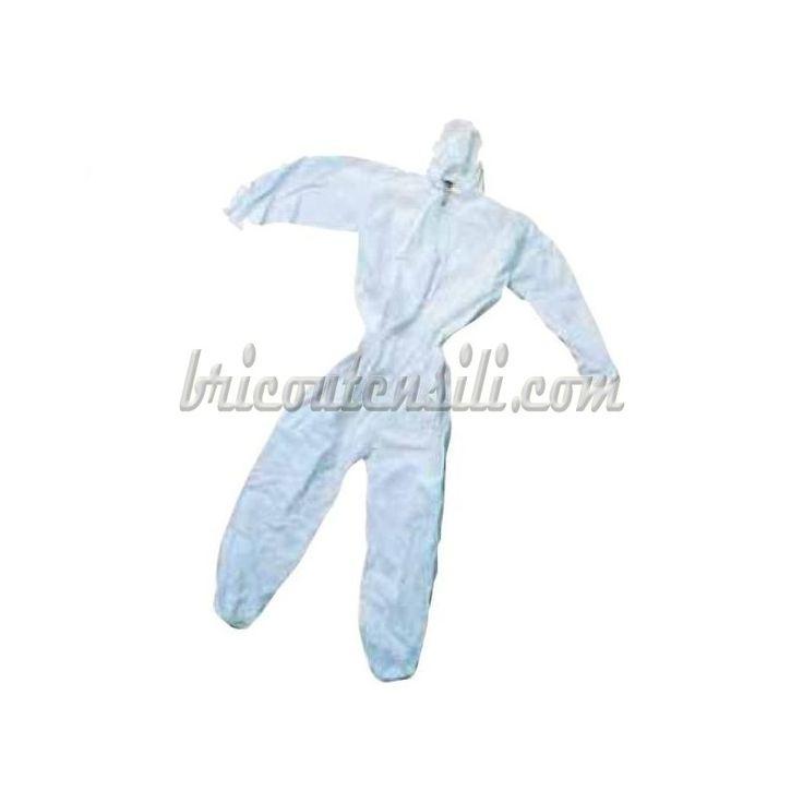 Applicazione : protezione contro lo sporco, schizzi e polveri non pericolose. E' adatta all'utilizzo indossata sopra ad indumenti.