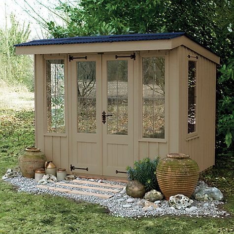 buy national trust by crane flatford summerhouse x from our garden pods summerhouses range at john lewis - Garden Sheds John Lewis