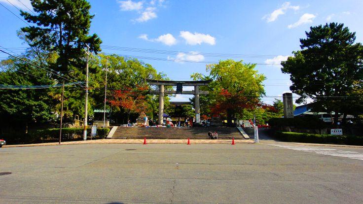 東山五条、豊国神社。 豊臣秀吉を祀っている、歴史ある神社です。