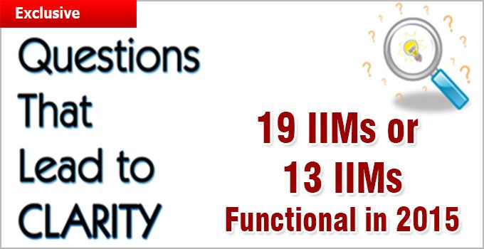 """new IIMs announced in the budget 2014 has not been cleared either by mentor IIMs or by Ministry of HRD which has not yet included the names of proposed IIMs in the list of IIMs on its site"""