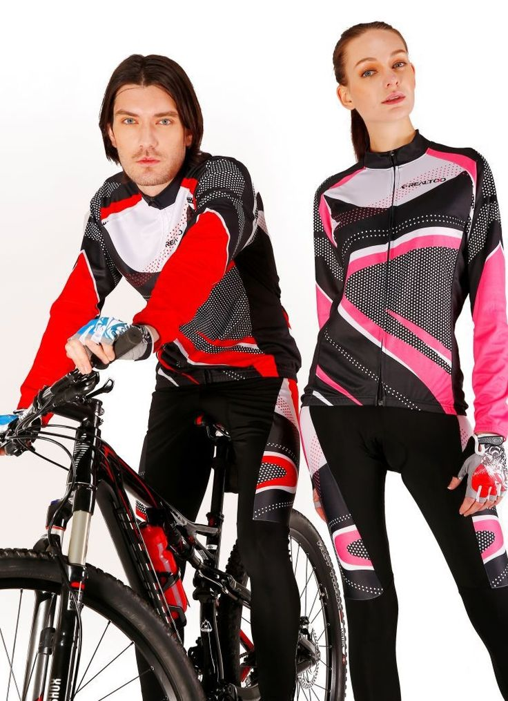 47.66$  Buy here - http://alice2.shopchina.info/go.php?t=32799115199 - New Men's & Women's Cycling Sets Thin Cool  Long Couple Cycling Jersey+ Cycling Pants Breathable Cycling Clothing REALTOO 4 47.66$ #aliexpress