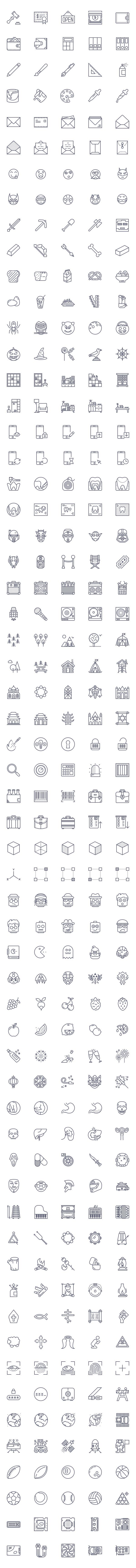 Free Outline Icons Set (95 Icons) Download Free Pixel perfect Social, Mobile Icons PSD (48 Icons) Download Free Line Icon Set AI and EPS (48 Icons) Download Free Puppets Stroke Icons – AI, EPS and …