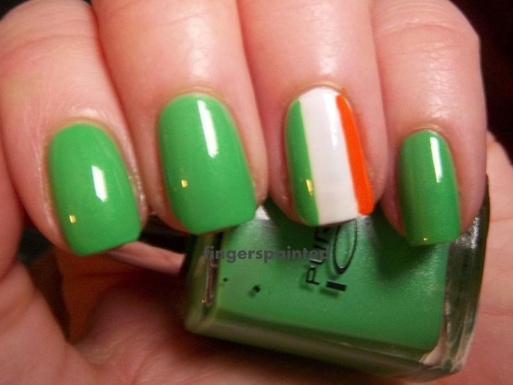 15 best Nail Art images on Pinterest | Nailed it, St patrick\'s day ...