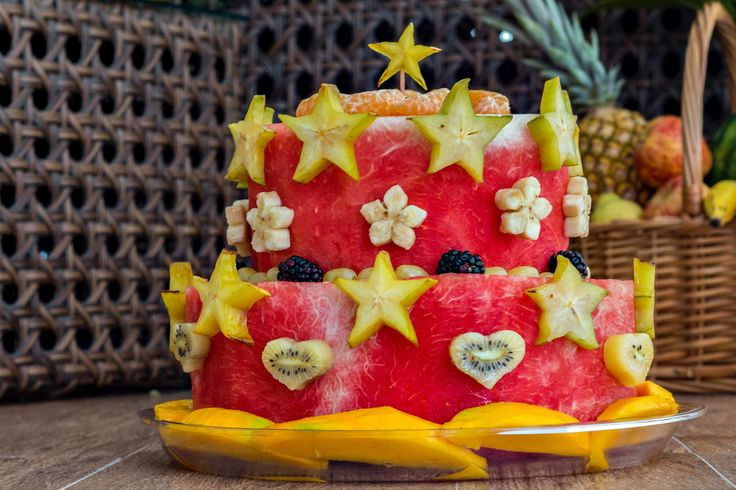 A healthy alternative for a baby smash cake.