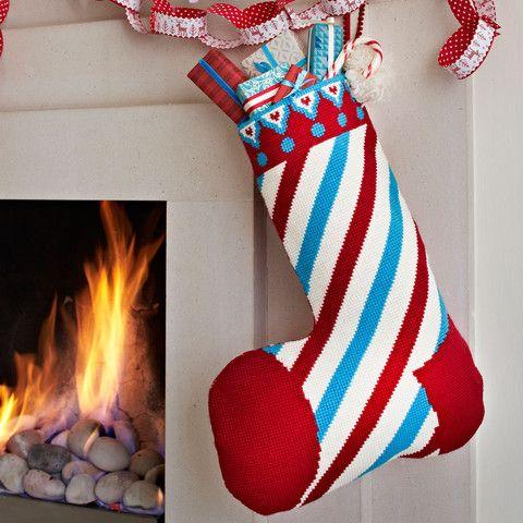 Supersize Stitches Christmas Stocking Cross Stitch Kit