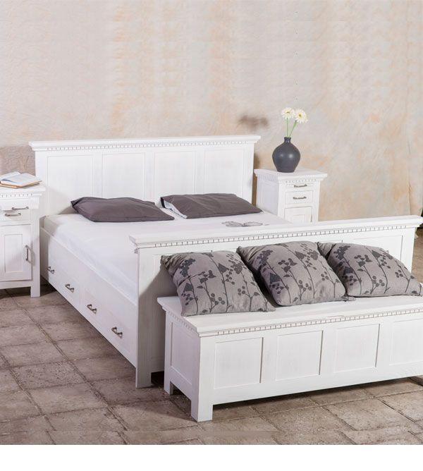 Die besten 25+ Bett 160x200 Ideen auf Pinterest 160x200, Bett - schlafzimmer landhausstil massiv