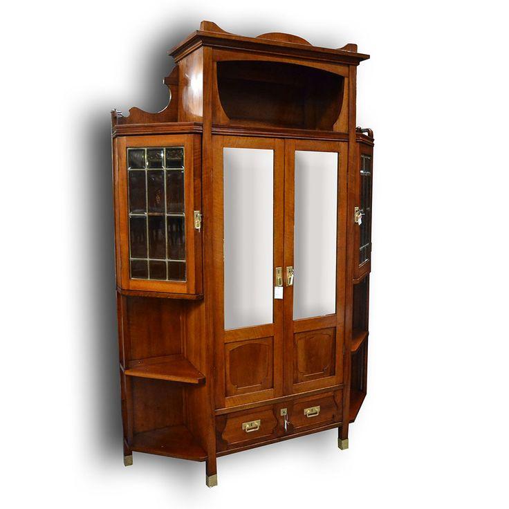 knihovna-secese Art Nouveau bookcase