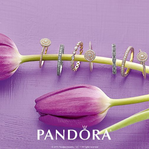 Stack this season's sparkling rings and put new energy at your fingertips.