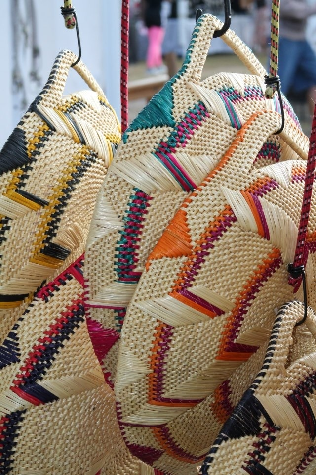 Basket made in Africa photographer Becca