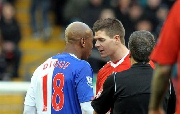 Gerrard denies El Hadji Diouf claims that he didn't like black players