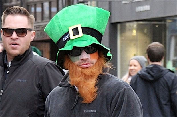 Nick Lachey Dressed Up as One Scary-Ass Leprechaun Leads Today's Star Sightings
