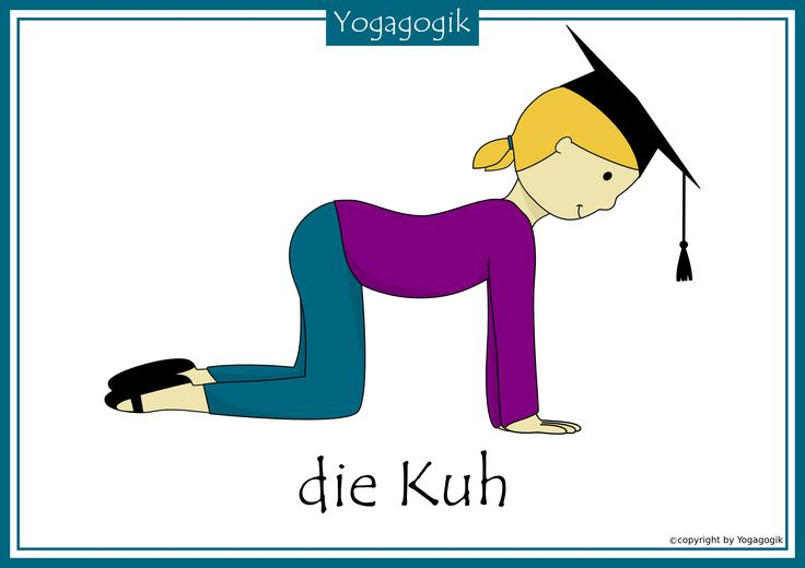 Kinderyoga Flashcards Kuh