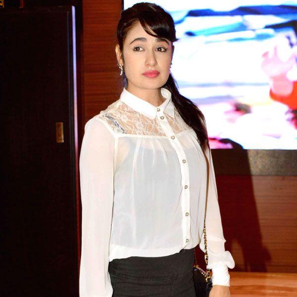 Yuvika Chaudhary at 'Kyaa Kool Hain Hum 3' screening. #Bollywood #Fashion #Style #Beauty #Hot