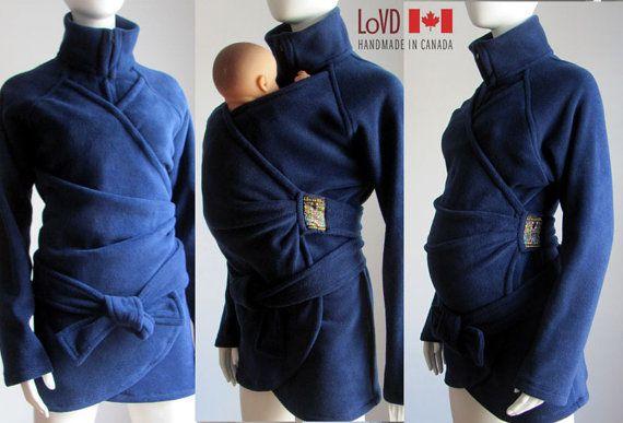 Maternity Jacket Babywearing Coat Baby Wearing Baby by babywearing, $150.00