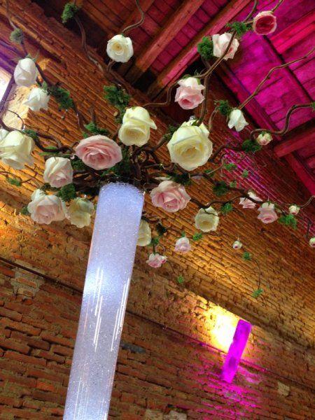 Decoration Mariage - Décoration florale des centres de table, compositions florales, fleurs fraîches, fleurs mariage, decoration mariage toulouse, fleuriste mariage toulouse, decoration mariage paris, fleuriste mariage paris, houppa, dais nuptial