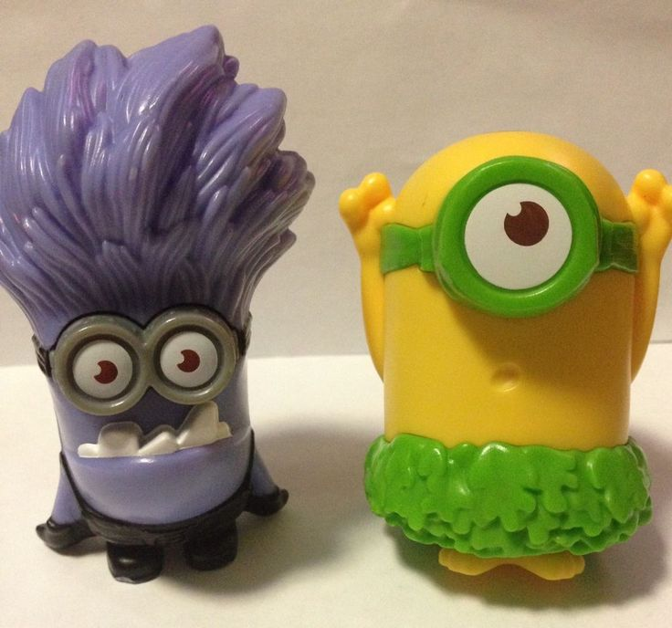 Mcdonald Happy Meal Toys Lot Despicable Me Minions Movie Character 2013 2015  | eBay