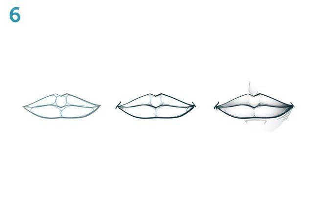 Line Art Lips : Best images about drawing lips and mouths on pinterest