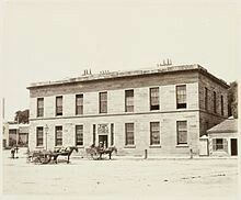 Customs jouse at 31 Alfred St,Circular Quay,Sydney in 1872.