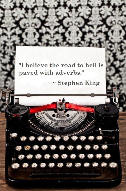 - Stephen King .  Obviously , :) you are the KING of horror .