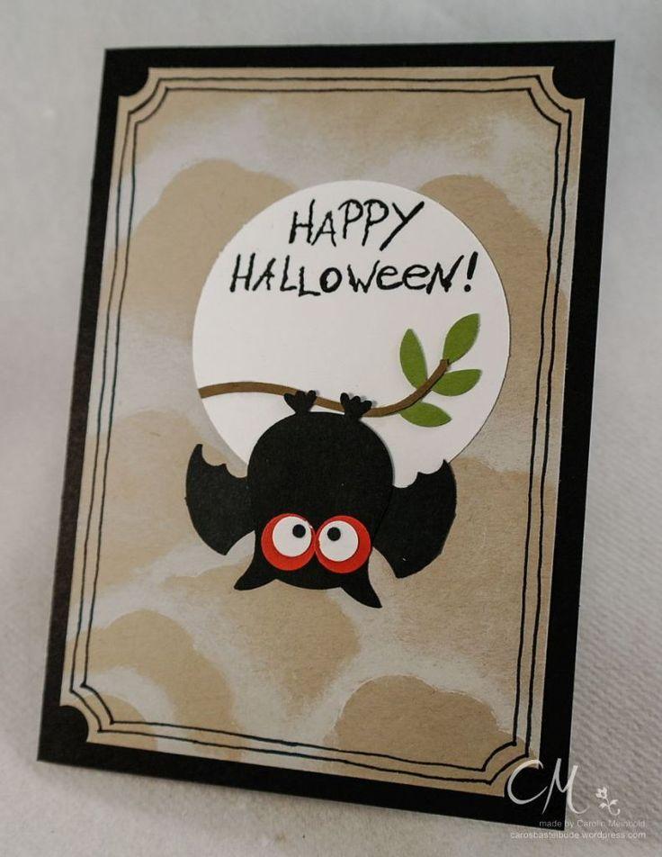 Mein Liebling des Monats im Oktober, Eulenstanze Stampin' Up!, Halloween #CarosBastelbude
