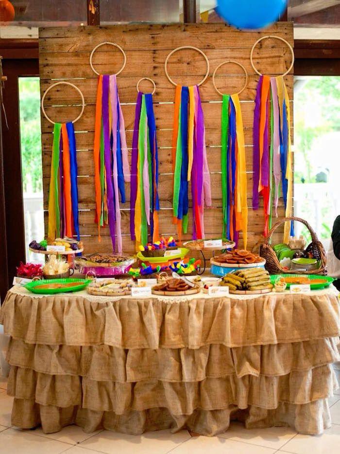 Filipino Festival Quot Pistahan Quot Inspired Birthday Party