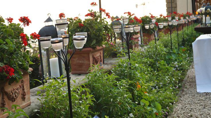 FLORALIADECOR #GIRITALY #GardenCandlestick #Plants