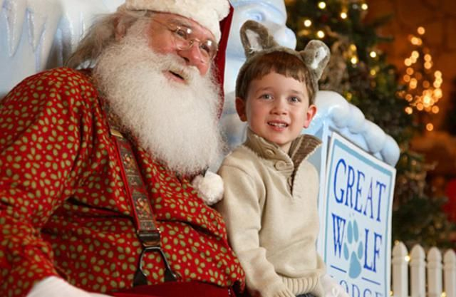 Christmas at Great Wolf Lodge: Snowland comes complete with life-size gingerbread houses, letters to Santa, caroling, holiday storytime, and more.