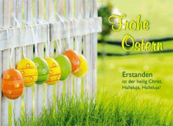 Frohe #Ostern #LOGO #Ostergruß #Osterkarte #logobuchversand #anzeige