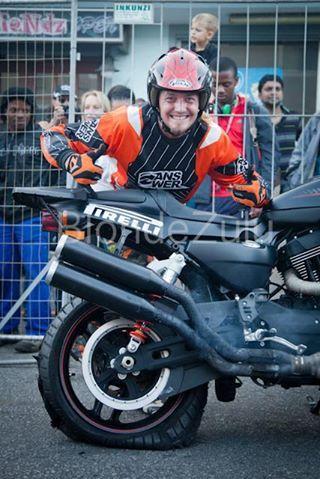 Harley-Davidson Africa Bike Week #stunt # harley