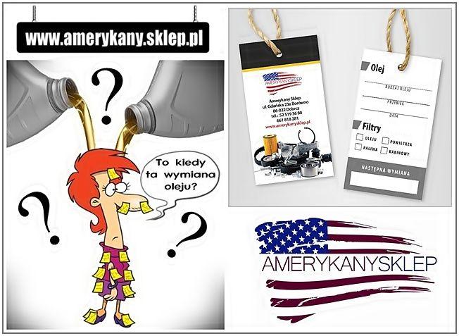 Car oil change - pendant AmerykanySklep-www.amerykany.sklep.pl