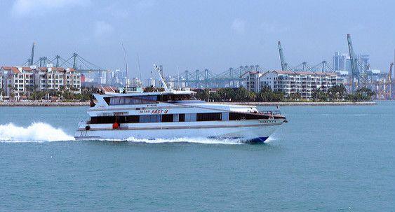 Batam Fast Ferry from Singapore to Batam Island Indonesia    Travel Guide to Sumatra     http://allindonesiatravel.com/