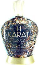 14 Karat Gold Rush 14x Plateau Breaking Bronzer Tanning Lotion By Designer Skin  From: $35.53