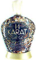 14 Karat Gold Rush 14x Plateau Breaking Bronzer Tanning Lotion By Designer Skin  From: $35.53