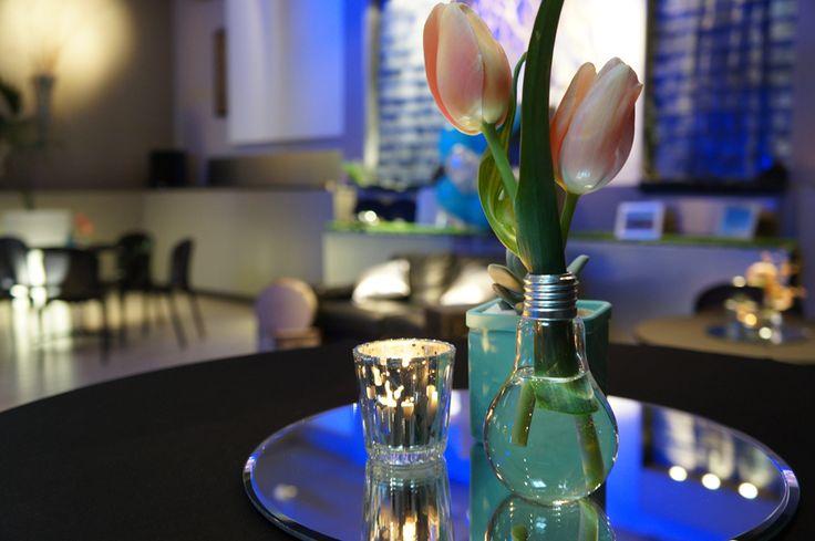 Mariage Lounge La-haut - Design Dessine-moi une étoile - Fleurs Aude Rose