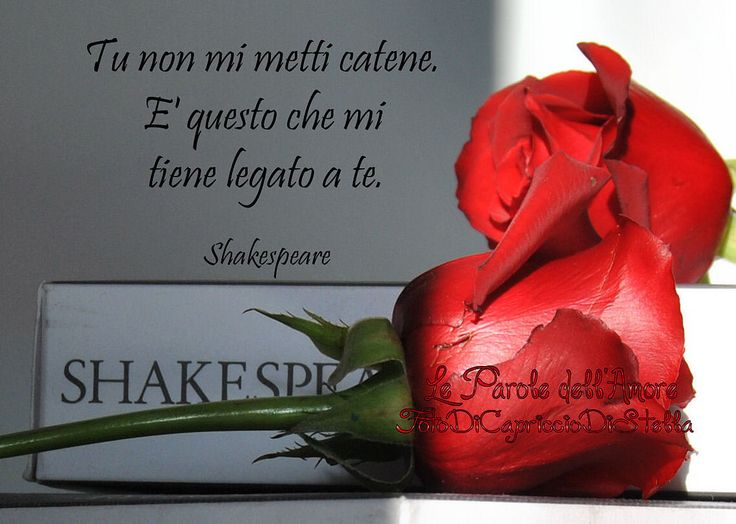 Ladra di Stelle - Le Parole Dell'Amore - W. Shakespeare