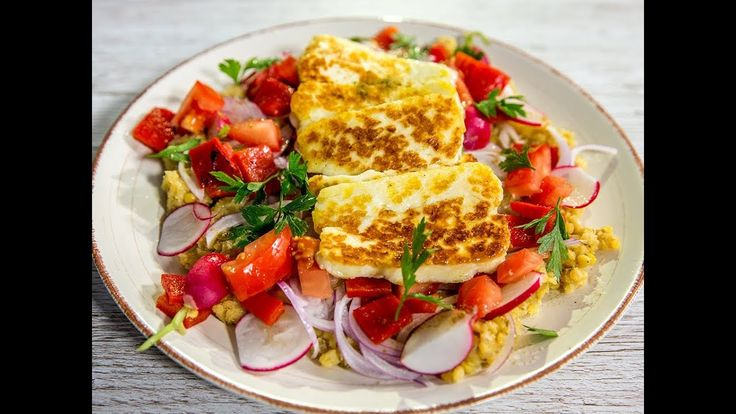 Halloumi is a traditional Greek type of cheese made from a mixture of goat sheep and sometimes cow milk. If you want to obtain something good out of it cook it on the stove with a bit of olive oil and serve it in a light salad with lentils red onion bell pepper and a few other surprises.  --------------------- Follow us on: Facebook: http://sodl.co/2dRsH0l Instagram: http://sodl.co/2eMvdCP  Twitter: https://twitter.com/sodlco  Pinterest: http://sodl.co/2jq3kHY