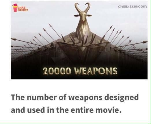 Some Unknown Facts about Bahubali Movie   Bahubali Movie