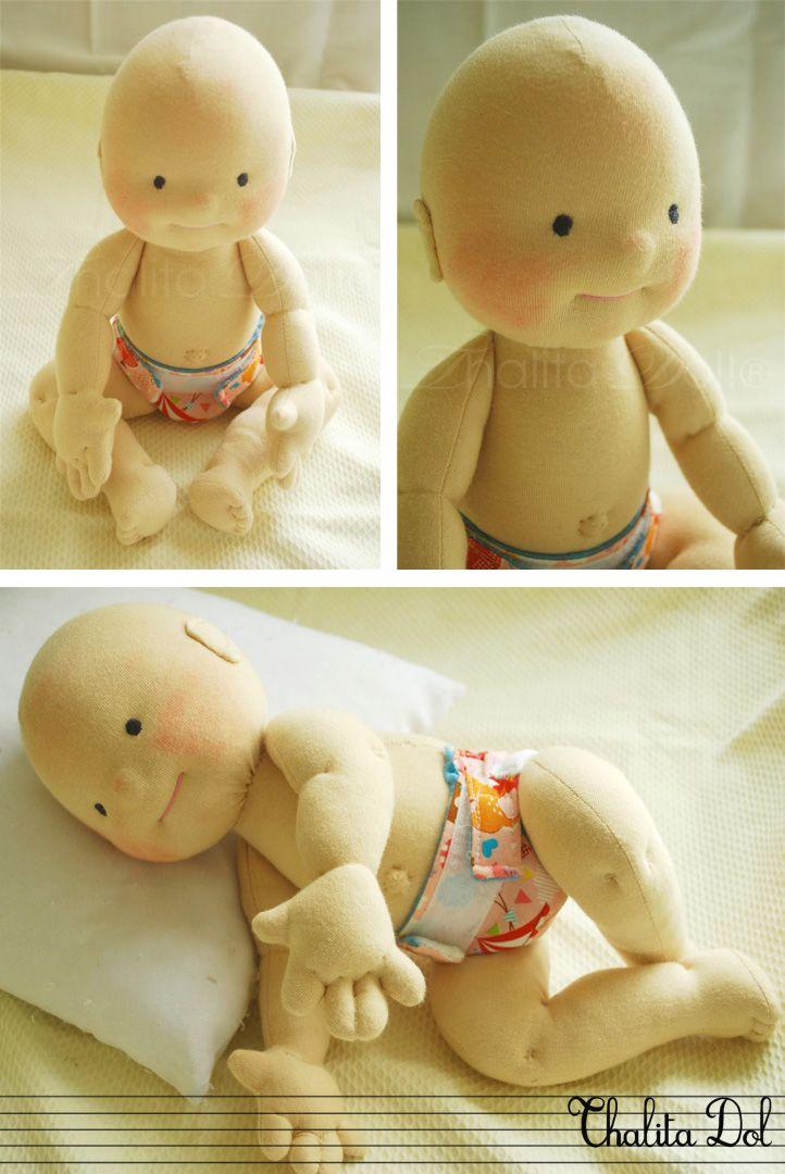 Thalita Dol: bald waldorf doll #waldorf doll