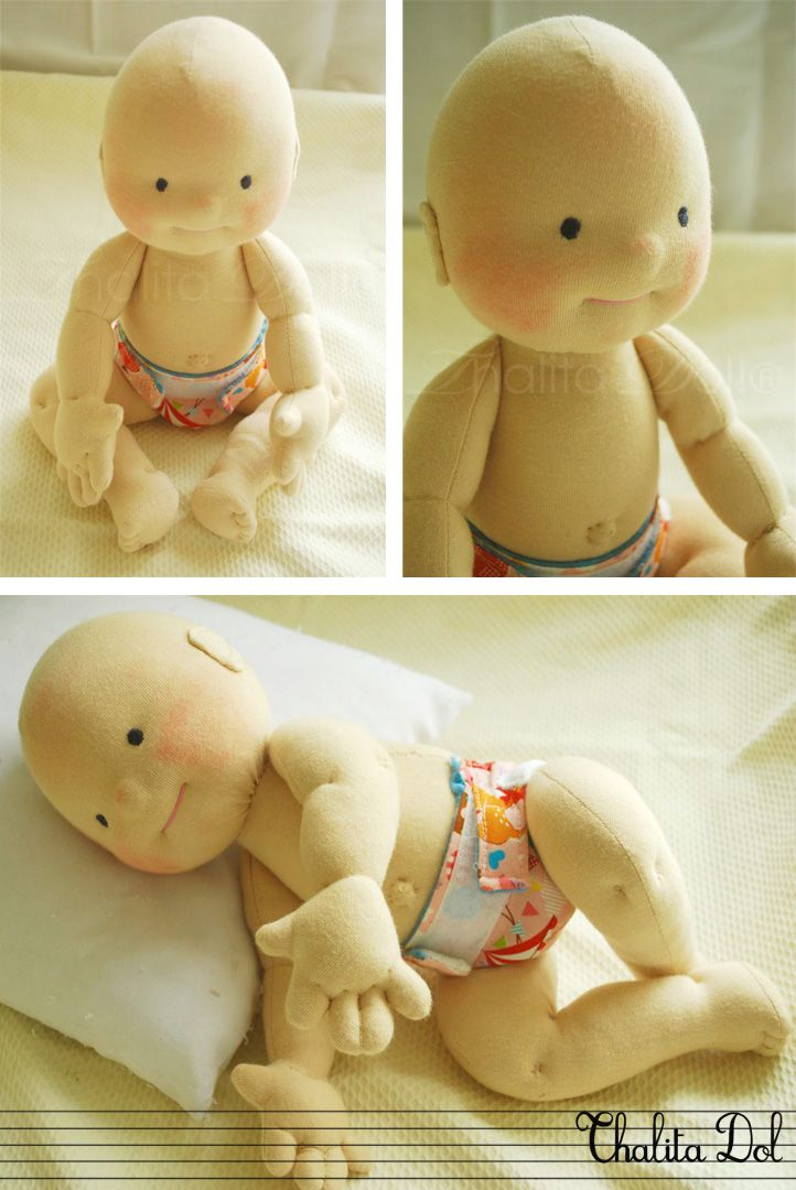 I refuse to get a google account to see Blogger sites. But this is a cute pic. Thalita Dol: bald waldorf doll