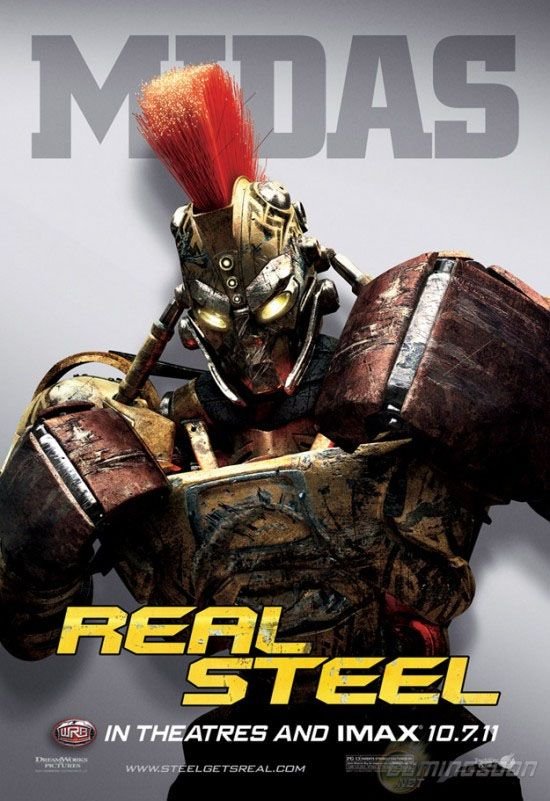 Real Steel 2011 Movie Poster