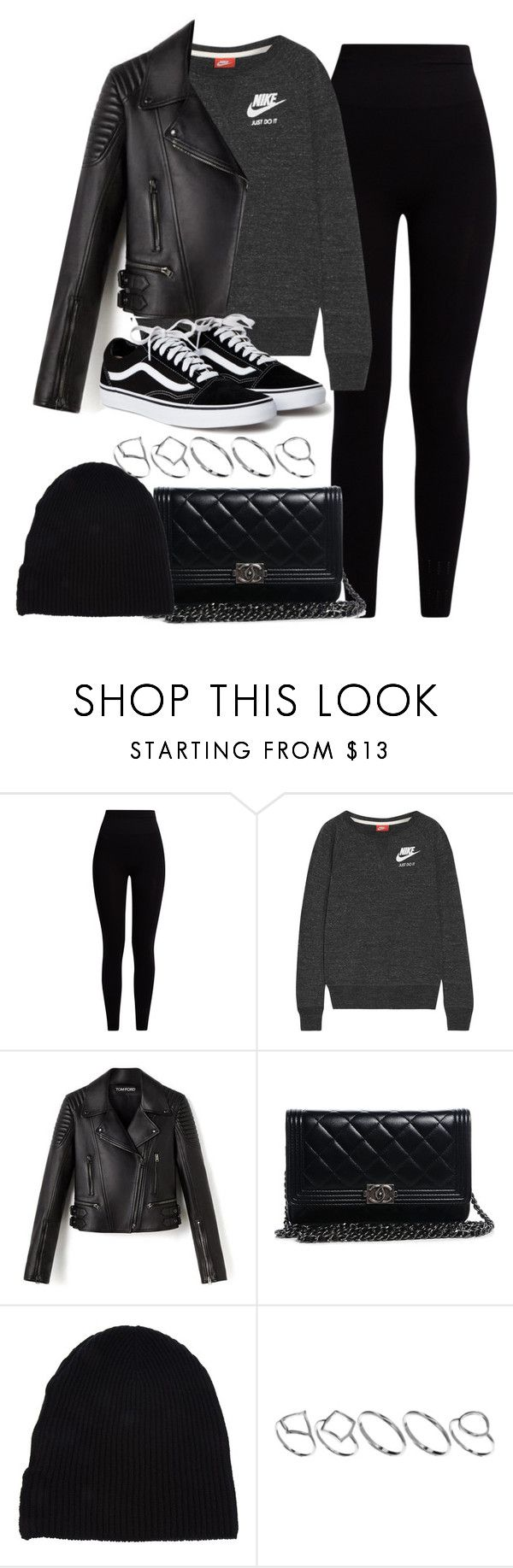 """""""Sin título #11969"""" by vany-alvarado ❤ liked on Polyvore featuring Pepper & Mayne, NIKE, Chanel, Yves Saint Laurent and ASOS"""