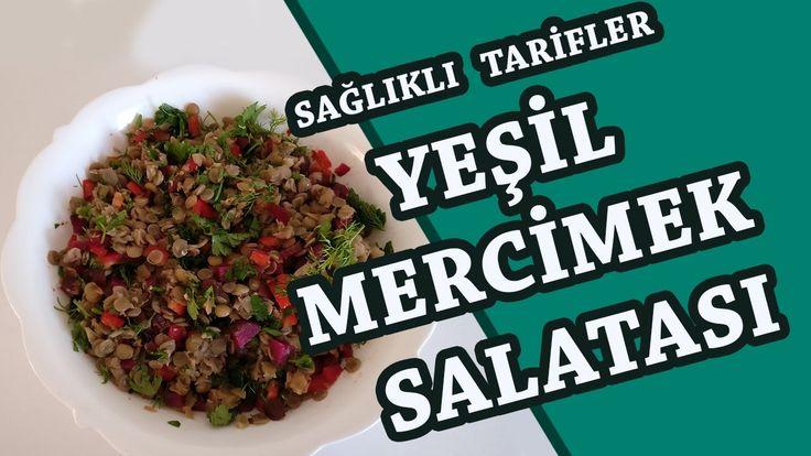 """Spor yapan ve sağlıklı yaşamak isteyenler için sağlıklı bir tarifle karşınızdayım. """"Yeşil Mercimek Salatası"""" zengin protein (%24) ve demir içeriği yanı sıra, lifli içeriği ile dikkat çekiyor. Ayrıca uzun süre tok tutma özelliği sayesinde daha enerjik olmanızı sağlayacaktır.  Yeşil Mercimek Salatası Tarifi İçin Malzemeler - 1 su bardağı haşlanmış mercimek, - 2 tutam maydanoz, - 1 tutam dereotu - 1 adet kırmızı biber, - Kornişon turşu, - isteğe bağlı taze soğan - 1 yemek kaşığı nar ekşisi, - 1…"""