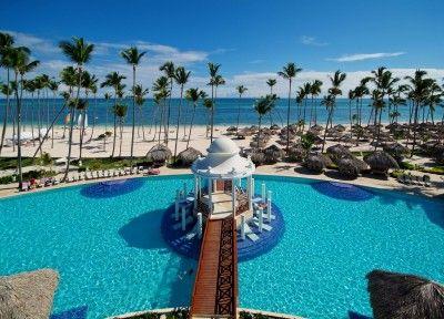 Resort aparţinând lanţului spaniol Meliá Hotels International care ocupă locul 20 în top.  Fotografie: Paradisus Palma Real, din Republica Dominicană.